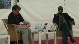 Press Conference with Youssou NDour 2010 - 1