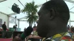 Press Conference with Youssou NDour 2010 - 7