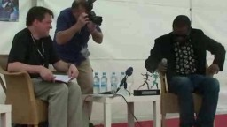 Press Conference with Youssou NDour 2010 - 8
