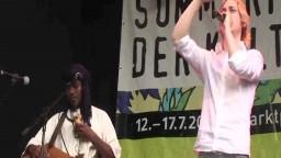 Papaul African Beatbox in concert, 2011 - 7