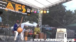 Percussion Session with Bakary Koné 2014 - 1