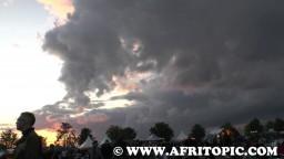 Sunset at Flammende Sterne Event 2014 - 4