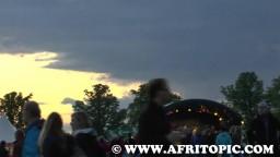Sunset at Flammende Sterne Event 2014 - 5