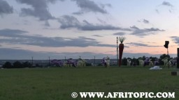 Sunset at Fammende Sterne Event 2014 - 6