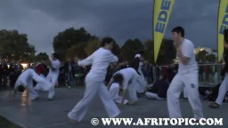 Capoeira at Fammende Sterne Event 2014 - 1