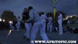 Capoeira at Fammende Sterne Event 2014 - 2
