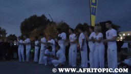 Capoeira at Fammende Sterne Event 2014 - 3