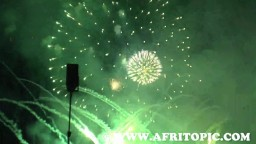 Costa Rica Music fireworks Show 2014 - 3