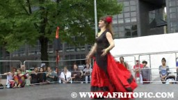 Gypsy Folk Dance at the Masala Open-Air 2015